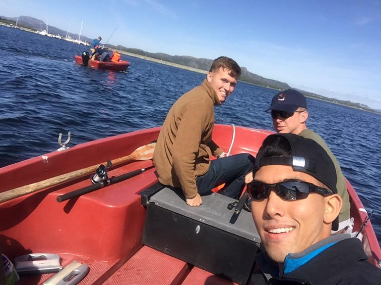 Fishing in Norway
