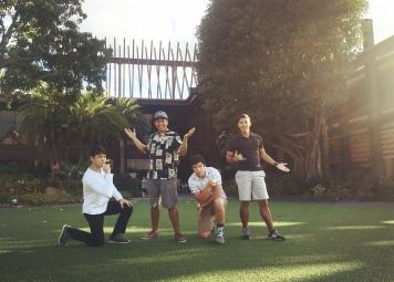 Disney with the Boys