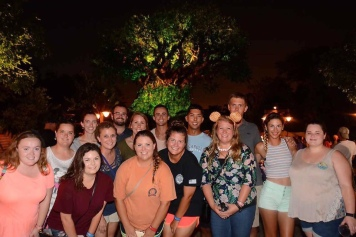Recreation Cast Outing at Animal Kingdom